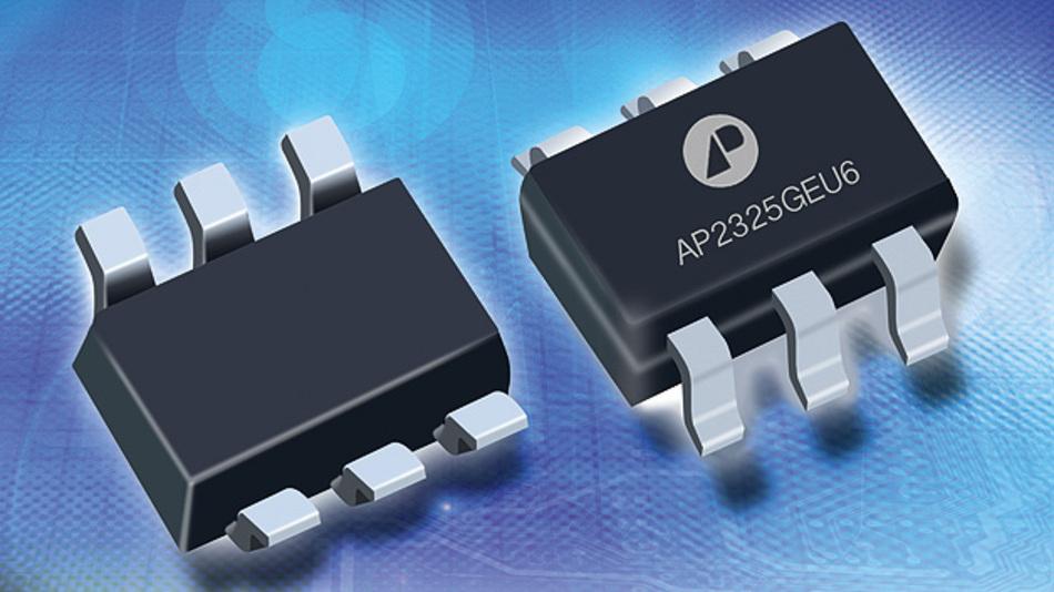 Hy-Line hat einen P-Kanal-Anreicherungs-Leistungs-MOFET im SOT363-Gehäuse von APEC im Angebot.
