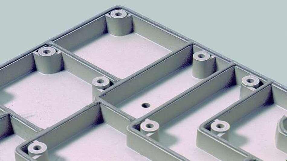 Bild 2: Zwischen mehreren Kammern lassen sich perfekte Abdichtverbindungen erzielen