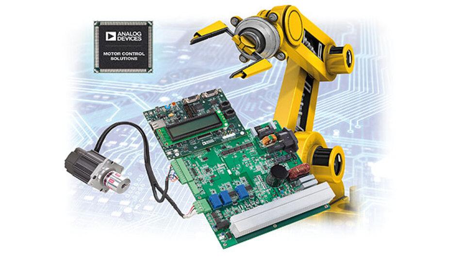 Bewegungssteuerungen mit dem Mixed-Signal-Steuerungsprozessor ADSP-CM408F