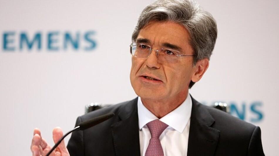 Joe Kaeser, Siemens: »Wir werden uns künftig auf Wachstumsfelder entlang von Elektrifizierung, Automatisierung und Digitalisierung fokussieren.«