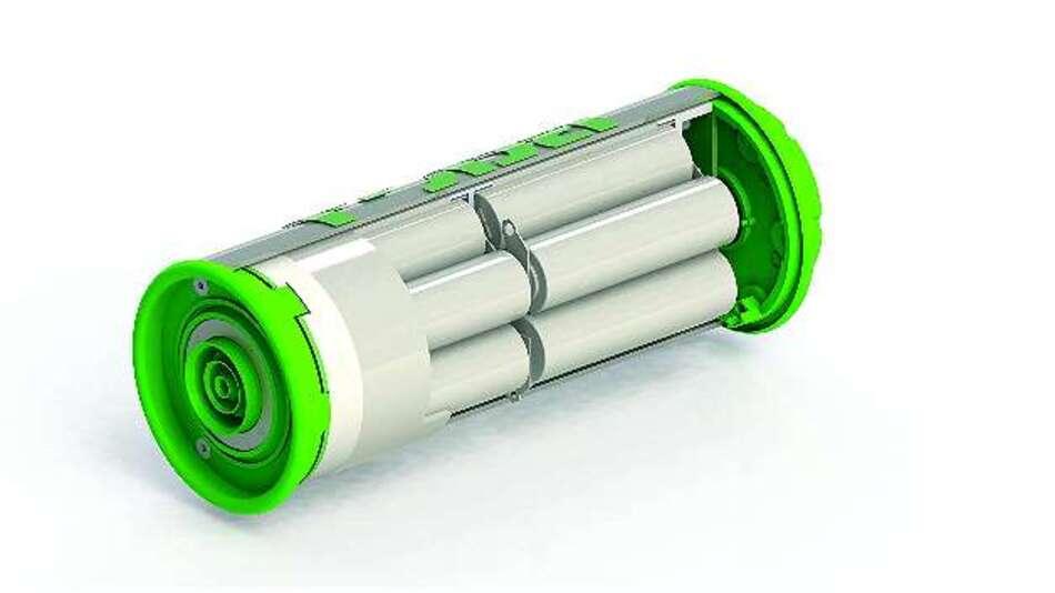 Bild 1: Schnittdarstellung einer »EnergyTube« von Ropa