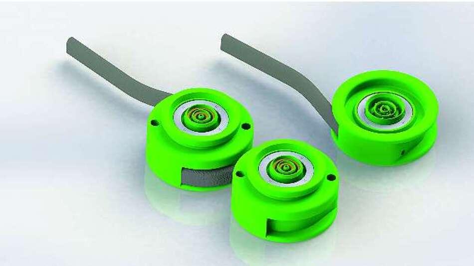 Bild 3: Die Steckverbinder der EnergyTubes kommunizieren miteinander