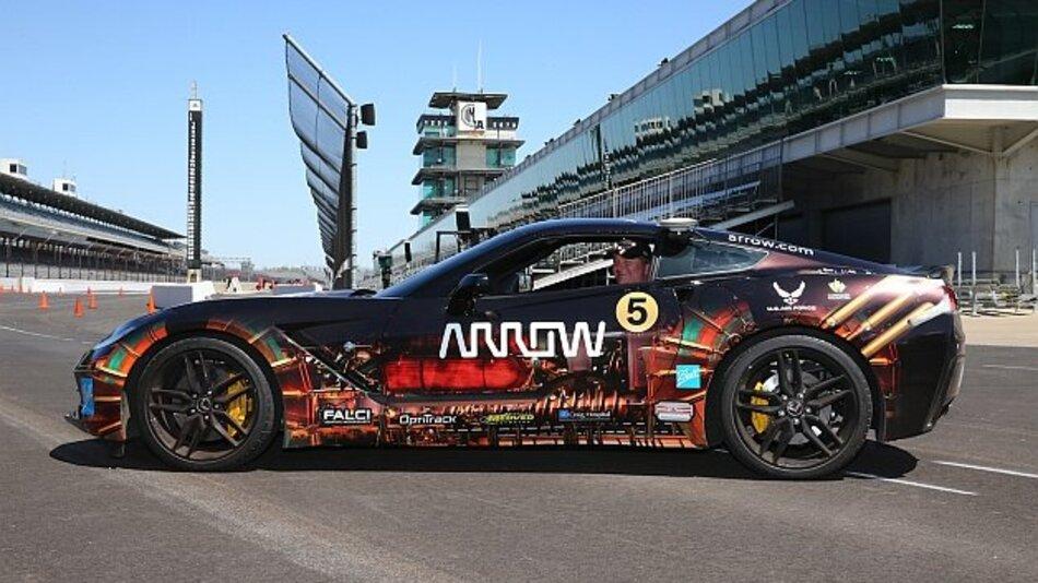 Ehemaliger Rennfahrer mit Querschnittslähmung bereitet sich auf Fahrt mit modifizierter Corvette bei Indy 500 Veranstaltung vor