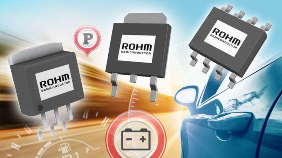 Die neue LDO-Serie BD4xxMx von Rohm besitzt eine deutlich verringerte Ruhestromaufnahme.