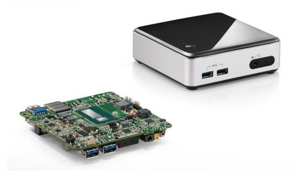 Die NUC – Next Unit of Computing – von Intel.