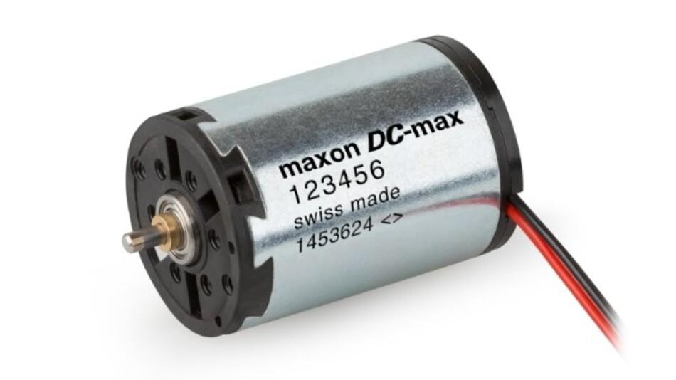 Ein Mitglied der neuen DC-Motoren-Familie »DC-max« von maxon motor