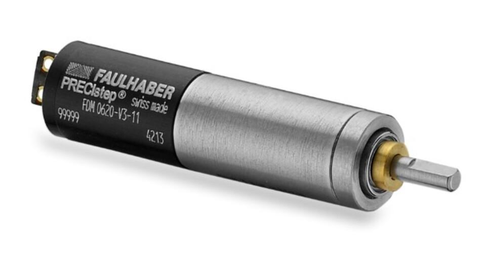 Einen großen Betriebstemperaturbereich haben die chrittmotoren der Serie FDM0620 von Faulhaber.