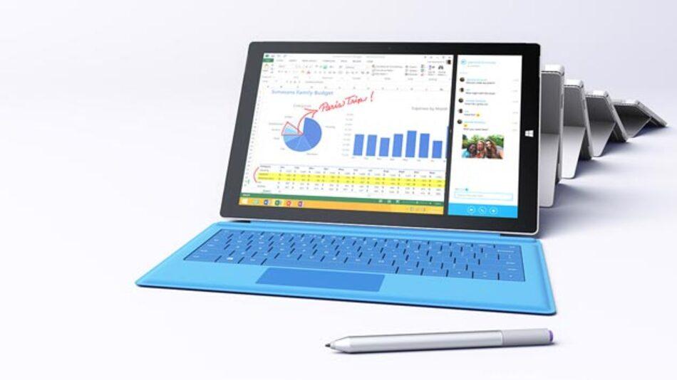 Microsoft Surface Pro 3 – Das Microsoft-Tablet unterstützt jetzt Stift-Eingabe.