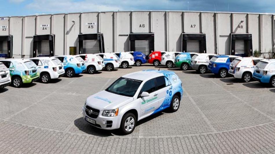 Knapp 5 Millionen Kilometer haben GM's Brennstoffzellenfahrzeuge im Rahmen des Project Driveway zurückgelegt.