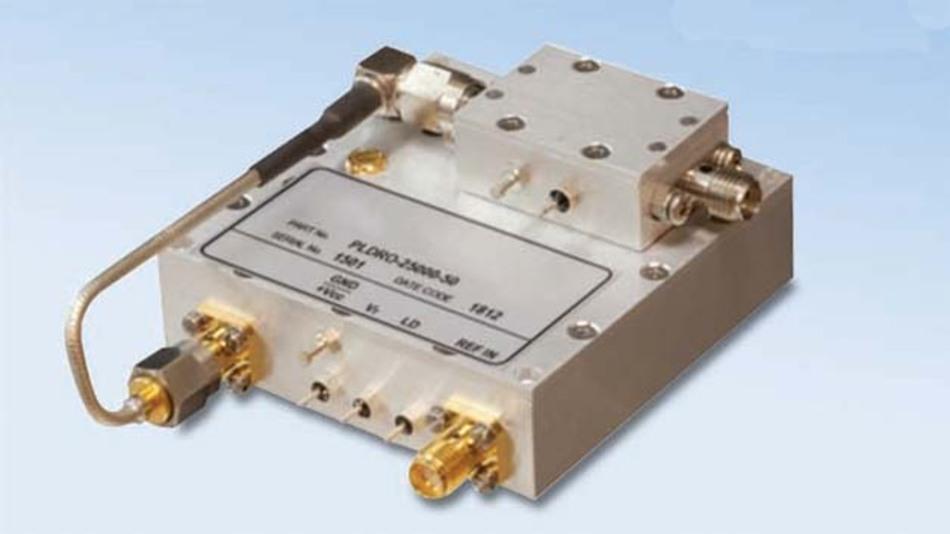 Hohe Frequenzkonstanz durch geringes Phasenrauschen: neue Phase-Locked-DROs gibt es in vielen Frequenzbändern im GHz--Bereich.
