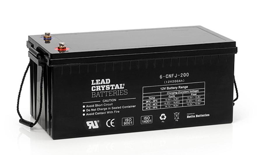 Eine Alternative zu Lithium-Ionen Akkus: Die »Lead Crystal«-Technologie von Omnitron.