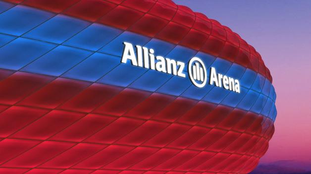 Kooperation mit dem FC Bayern: Philips lässt die Allianz Arena in ...