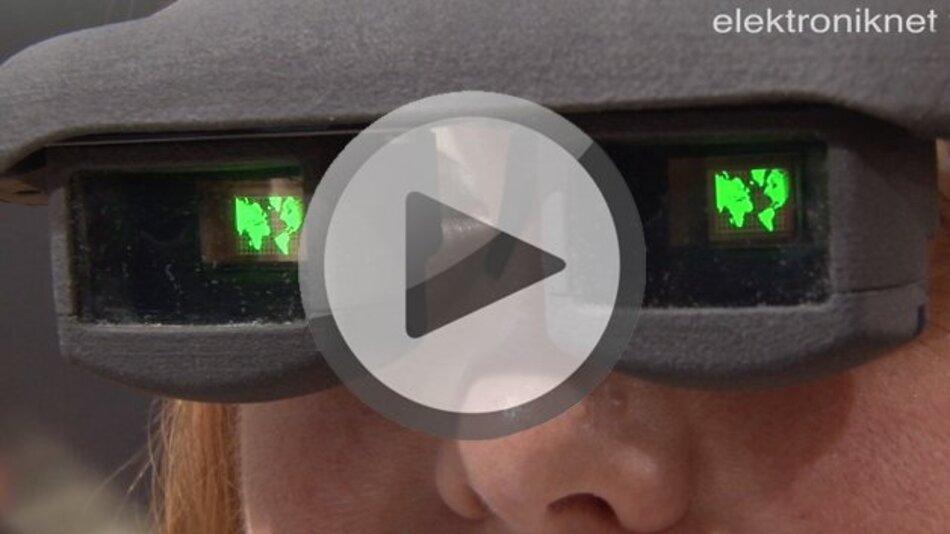 OLED-Datenbrille des Fraunhofer COMEDD