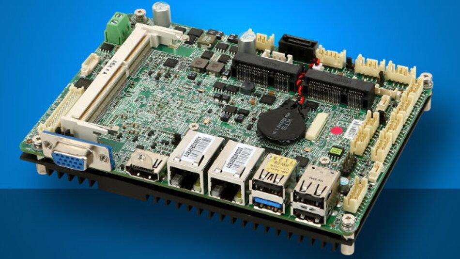 Der SBC »MS-98F6« von Data Modul nutzt das 3,5-Zoll-Format.