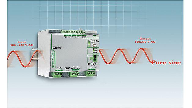 Quint-AC-USV-Lösungen bei AC-Lasten