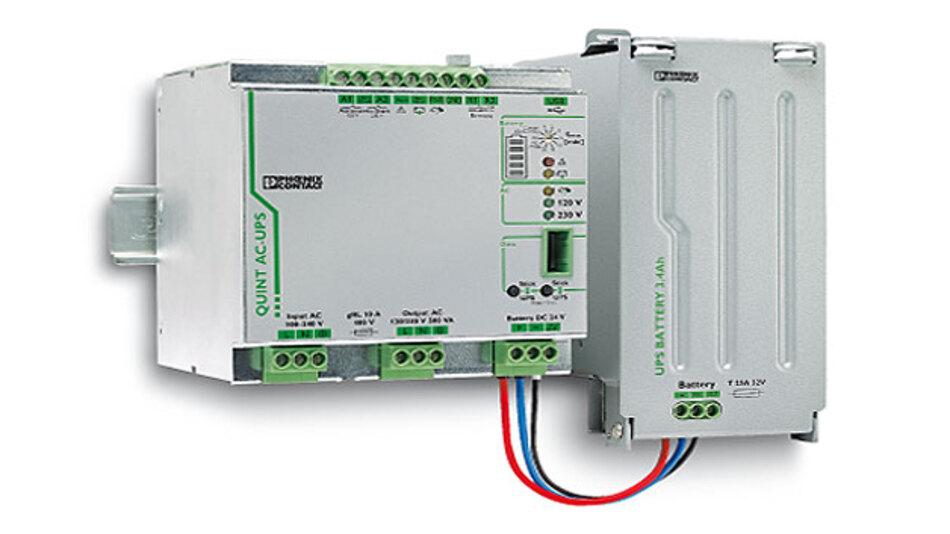 Bild 1. Eine unterbrechnungsfreie Stromversorgung versorgt die Verbraucher auch, wenn das Netz einbricht oder ausfällt.