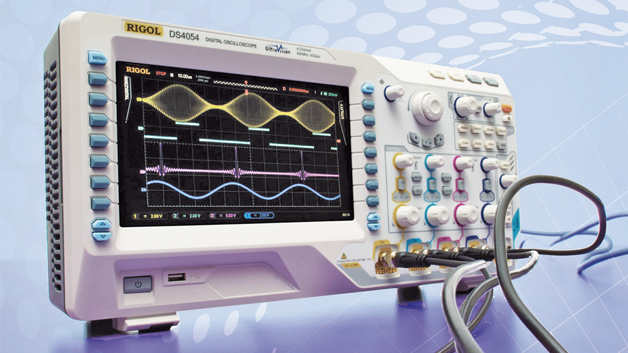 Bild 3: Oszilloskop der Serie »DS4000«