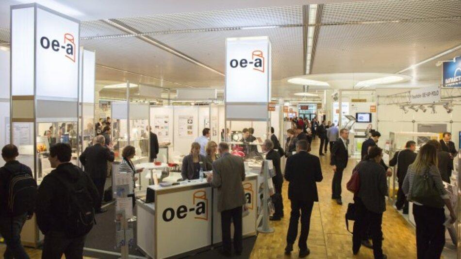 LOPEC 2014: Die Messe der organischen und gedruckten Elektronik wird organisiert von der Messe München und der OE-A, einer Arbeitsgemeinschaft im VDMA.
