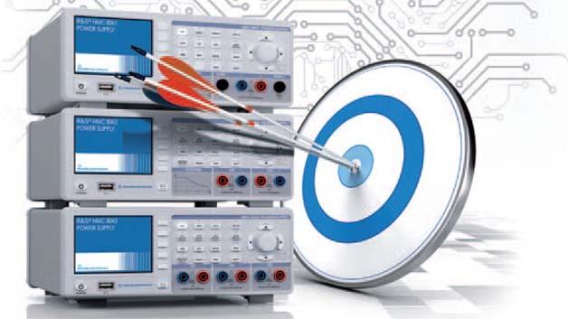 Die Labor-Netzteile der Serie HMC804x, die in Typvarianten mit einem, zwei oder drei Ausgängen verfügbar sind, eignen sich ideal für den Messtechnik-Labortisch.