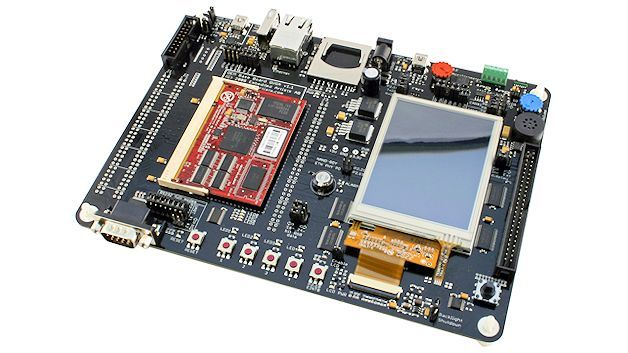 Das LPC2478 Developer's Kit von Embedded Artists
