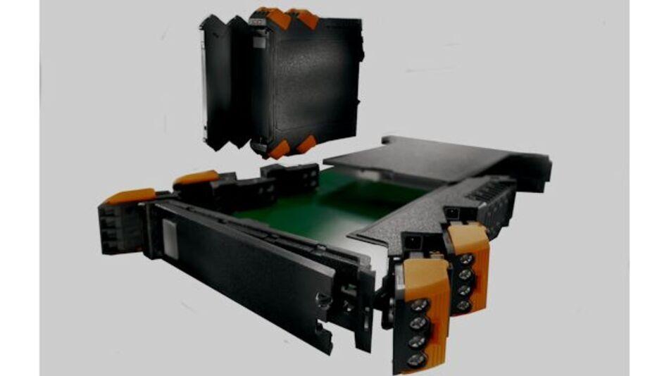 Elektronikgehäuse-System CH20M: Das modulare Gehäusekonzept ermöglicht ein individuelles, auf den Kunden zugeschnittenes Design