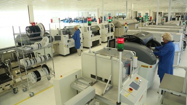 Das neues Automotive-Werk von Continental in Kaluga entspricht beim Umweltschutz und bei der Ergonomie der Arbeitsplätze neuesten Standards.