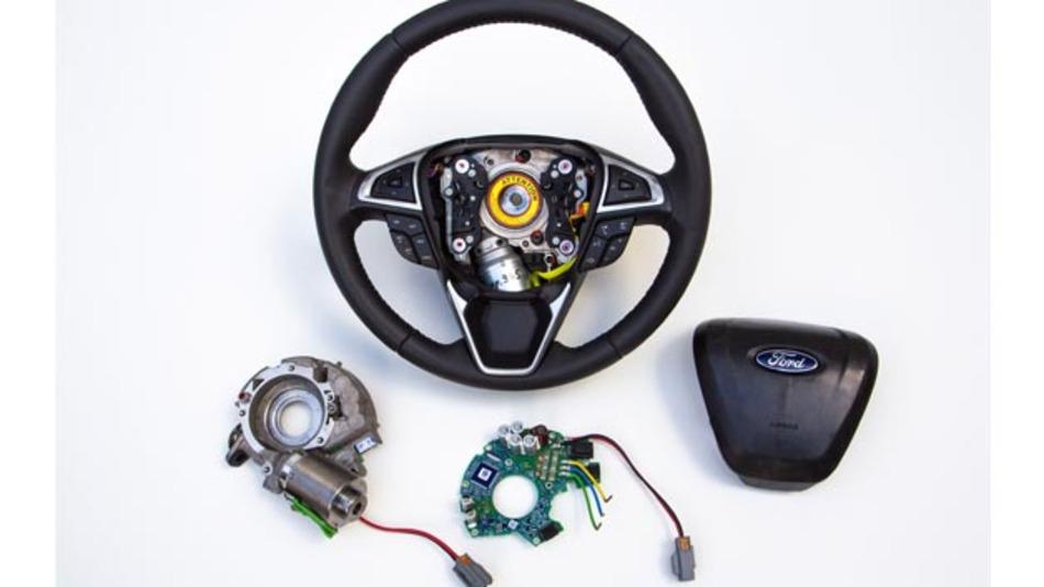 Die adaptive Lenkung von Ford soll Anfang des nächsten Jahres für Serienfahrzeuge der Marke verfügbar sein.