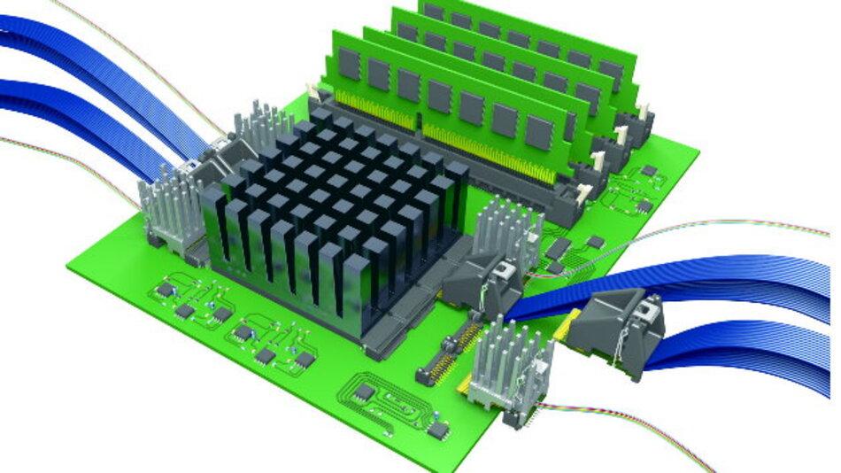FireFly-Steckverbindersystem bis 28 GBit/s