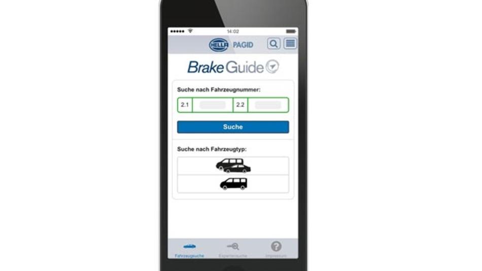 Der BrakeGuide von Hella Pagid Brake Systems ist jetzt auch als App verfügbar.