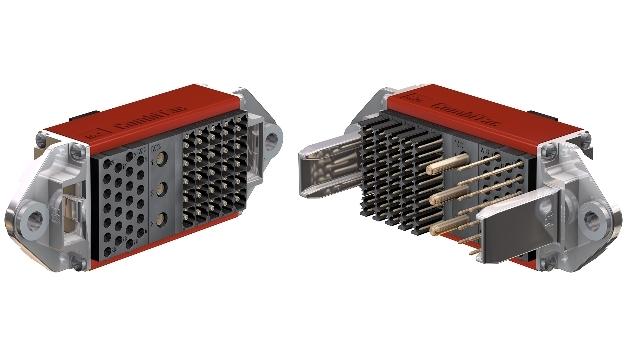 Kompakter Hybrid-Steckverbinder CombiTac mit Signal- und Leistungskontakten
