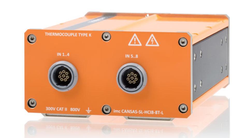 Hochisolierte Messsysteme von imc erlauben das präzise Erfassen kleinster Spannungspegel auf hohem Offset-Spannungs-Niveau.