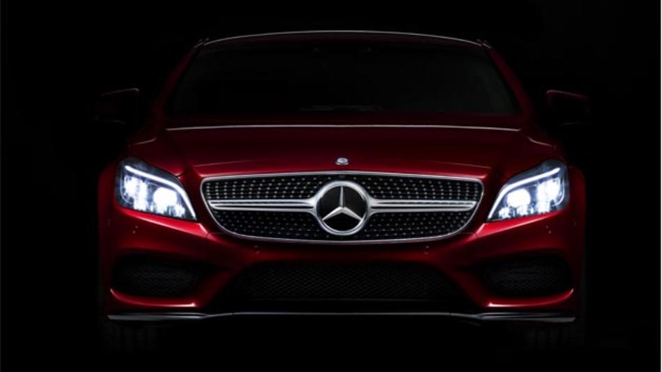 Im Mercedes-Benz CLS kommt erstmals die Multibeam-LED-Technologie zum Einsatz.