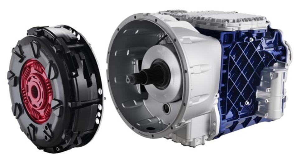 Das I-Shift-Doppelkupplungsgetriebe von Volvo Trucks kommt nun auch in schweren Lkws zum Einsatz.