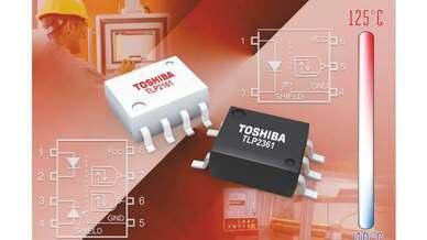 Optokoppler TLP2361 und TLP2161 von Toshiba, erhältlich bei Rutronik
