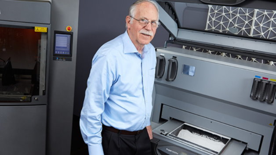 Charles Hull, Erfinder des 3D-Drucks