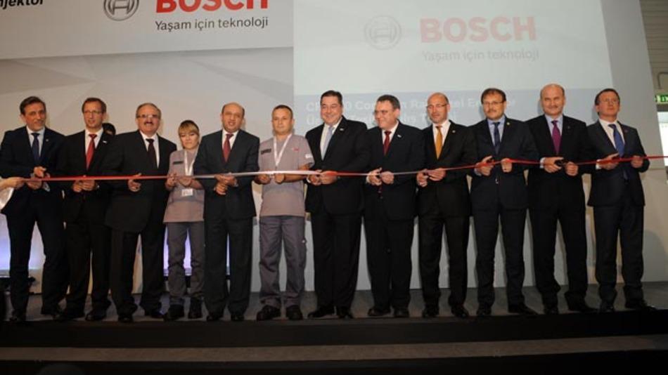 Bosch erweitert seinen Standort in der Türkei um eine neue Fertigungshalle. In dieser werden Hochdruckeinspritzungen für Diesel-Pkw hauptsächlich europäischer Automobilhersteller produziert.