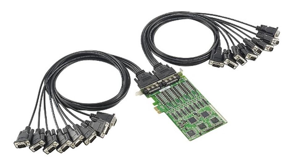 Für kleinere Automatisierungs-Netzwerke sind die neuen PCI-Express-x1-RS-485-Schnittstellenkarten von Moxa ausgelegt.