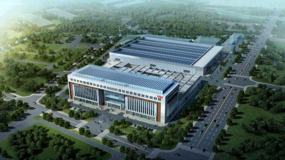 Mehr als 1.200 Mitarbeiter sind in TRWs neuem Technologiezentrum im chinesischen Anting beschäftigt.