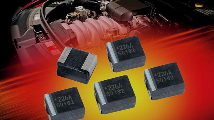 Angebot an hoch zuverlässigen Kondensatoren für hohe Temperaturen von AVX und Panasonic