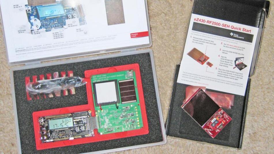 Analog Devices , Cherry , Texas Instruments und Würth Elektronik unterstützen mit hochwertigen Development Kits für jeden Teilnehmer den Energy-Harvesting- und Low-Power-Workshop, der am 3. Juli stattfindet.