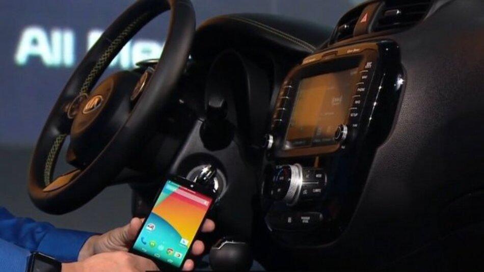 Mit Android Auto will Google auch die Fahrzeuge erobern.
