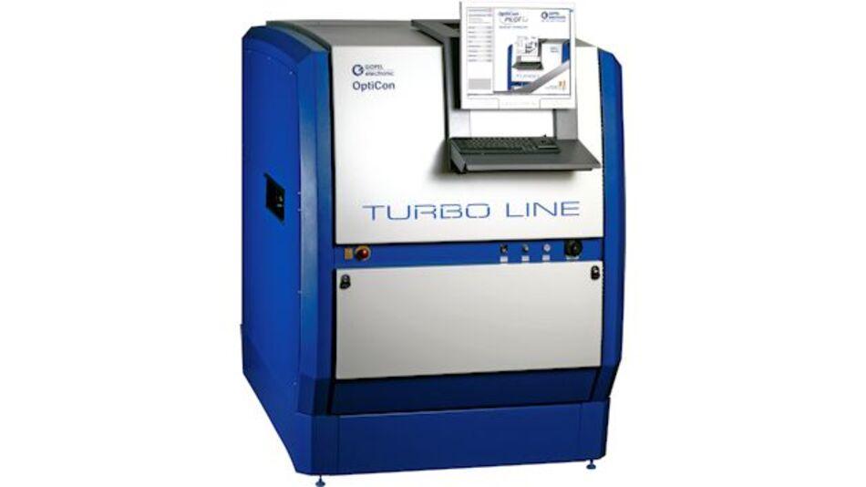 TurboLine ist ein In-Line-AOI-System