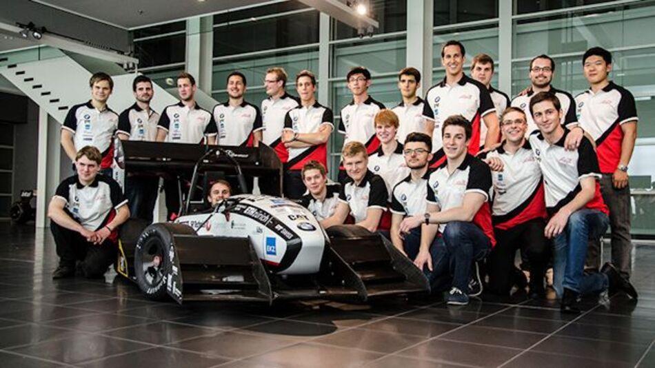 """Formula-Student-Bolide der ETH Zürich namens """"grimsel"""""""