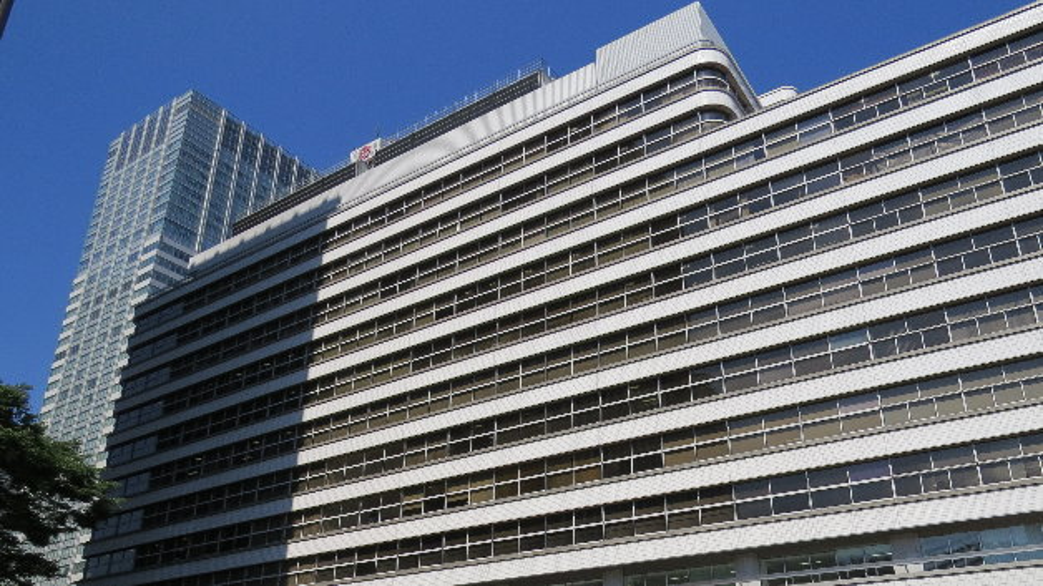 Renesas Firmenzentrale im Nippon-Building in Tokio.