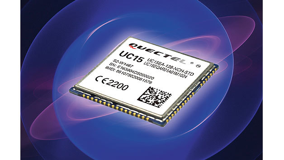 Bild 2. Eine günstige Aufrüstung von GPRS auf UMTS ist mit dem Modul UC15 möglich.