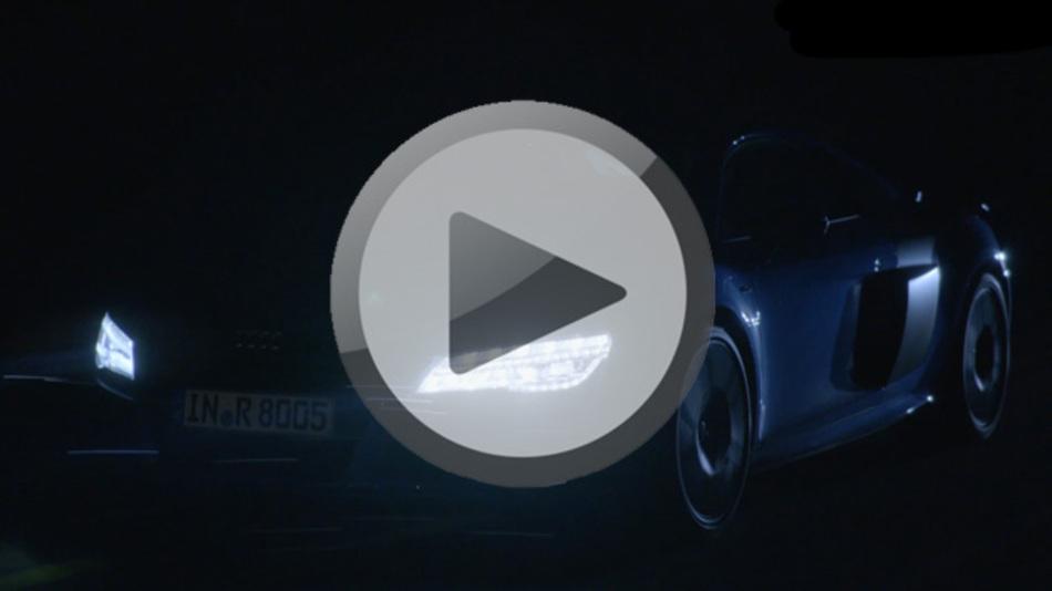 Audi Laserlight im R8 LMX
