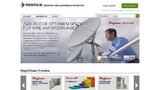 Pentair Technical Solutions mit neuer Webpräsenz