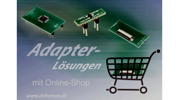 Umfangreiches Adapter-Programm ab Lager