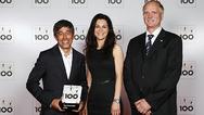Ranga Yogeshwar mit Nadine und Peter Henkel, beides Geschäftsführer von EPC Engineering Consulting