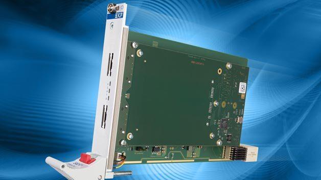SD7-TRACK, eine zweikanalige eSATA-Karte für CompactPCI-Serial